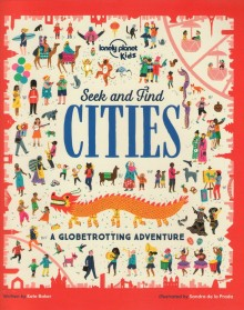 Seek and Find Cities, książka, Lonely Planet