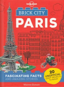 Brick City Paris, książka, Lonely Planet