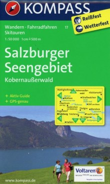 Salzburger Seengebiet, 1:50 000, Kompass