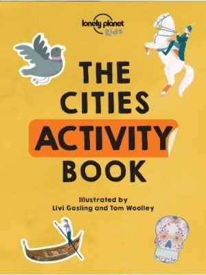 The Cities Activity Book, książka Lonely Planet
