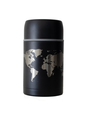 Termos na lunch World - czarny 800ml, TravelSet