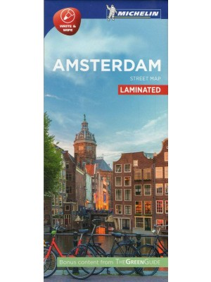 Amsterdam, 1:12 500, plan miasta, Michelin